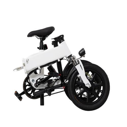 14寸電動自行車鋰電單車成人代步車助力摺疊車