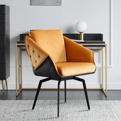 傑希輕奢電腦椅家用簡約書房臥室辦公椅久坐舒適化妝轉椅梳妝凳子