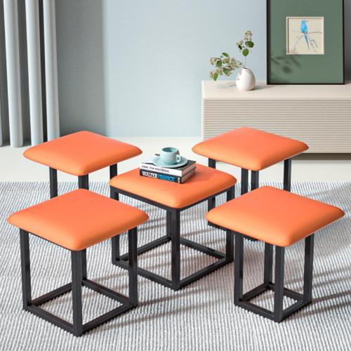 網紅魔方凳子組合家用沙發小矮凳ins北歐餐桌凳疊放可收納多功能