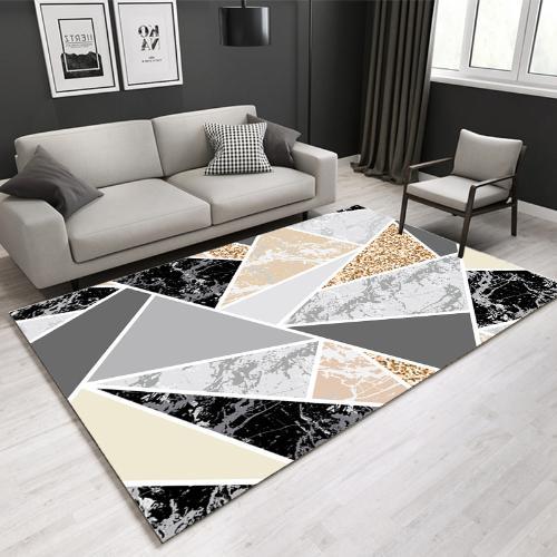 跨境現代簡約客廳茶几大地毯北歐風辦公室滿鋪地毯定製可代發批發