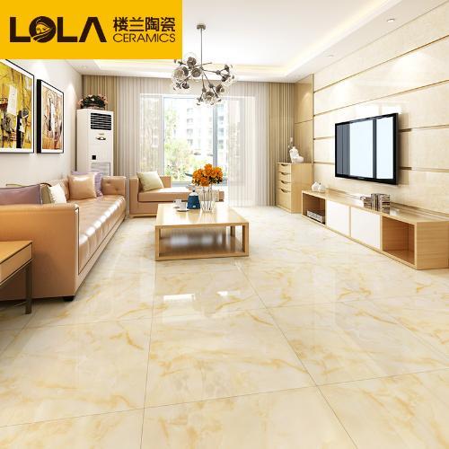 樓蘭瓷磚 客廳地板磚800x800地磚全拋釉臥室房間瓷磚防滑耐磨
