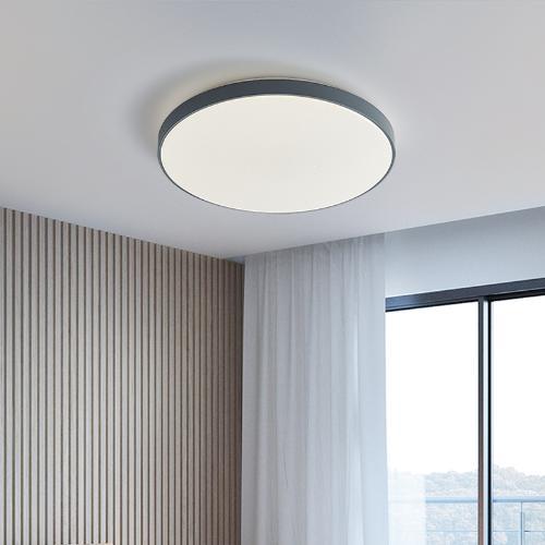 華藝小米米家AI智能語音燈具現簡約代臥室書房圓形超薄小愛吸頂燈