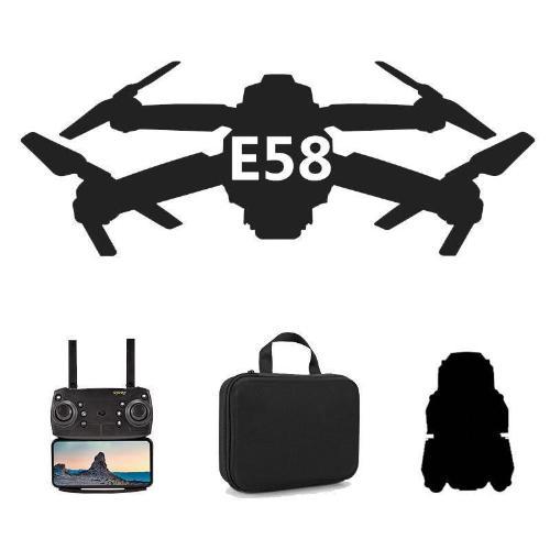 跨境爆款E58摺疊無人機 4K摺疊高清航拍四軸飛行器 WiFi實時圖傳