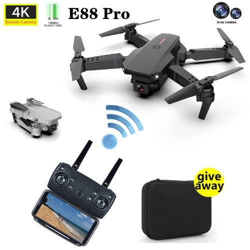 遙控飛機E88Pro四軸飛行器摺疊高清攝像頭專業航拍跨境玩具無人機
