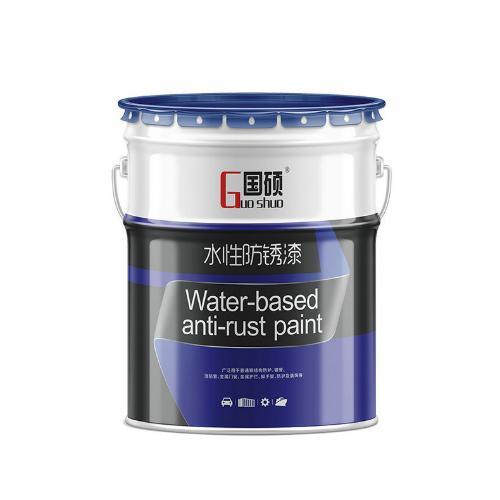 國碩鋼結構防鏽漆灰色油漆耐鹽霧金屬塗料施工簡單工業水性漆